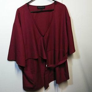 Eloqull plus size blouse
